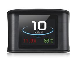 $enCountryForm.capitalKeyWord UK - P10 Car HUD Head Up Display Smart Digital Speedometer LCD Display OBD 2 Scanner Diagnostic Tool XR657
