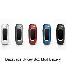 Chinese  100% Original Dazzvape U-Key Vape Battery Flip Vape 350mAh Variable Voltage Battery Mod Fit For All 510 Thick Oil Cartridges manufacturers