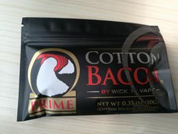 Wicks Fiber NZ - Made in China High Copy New Prime Gold Version COTTON BACON 2.0 Clone Pure Organic Cotton Wick n Vape Fiber VS VCC Candy RDA RBA