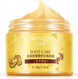 Bioaqua ayak bakımı masaj krem peeling peeling nemlendirici ayak spa güzellik ölü cilt ayak kremi kaldır