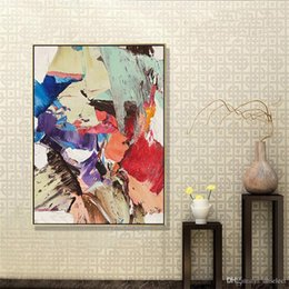 pop panels NZ - Abstract Animals Pop Art Handpainted & HD Print Art Oil Painting On High Quality Thick Canvas Multi Sizes l16