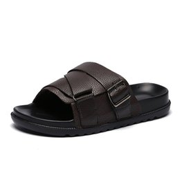 f63ea5240d92f2 Shoe Boy Flip UK - Men Casual Sandals Boys Summer Beach Slippers Shoes  Hip-hop