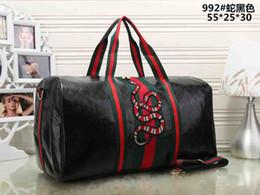 Embroidery Duffel Bags 2018 new fashion men women travel bag 36dbb761e29f5