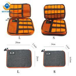 Data Power Bank NZ - travel storage bag kit case digital gadget devices waterproof Ipad organizer USB data cable earphone wire pen power bank