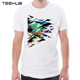 $enCountryForm.capitalKeyWord Canada - TEEHUB New Arrival 2018 Men Fashion Abstract Geometric Art Printed T-Shirt Hipster Tee Cool Design Tops