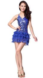 Baile Latino Vestido De Las Mujeres Visten Trajes De Baile Conjuntos De Ropa De Lujo De Perforacion En Caliente Nuevas Lentejuelas Redondas Latinas Ropa