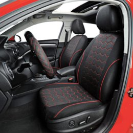 $enCountryForm.capitalKeyWord NZ - AUTOYOUTH Soccer Ball Style Car Seat Covers Jacquard Fabric Universal Fit Most Brand Vehicle Interior Accessories Seat Covers