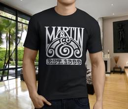 Black S Guitar NZ - Hot New MARTIN GUITAR Men's Black T-Shirt Size S-3XL