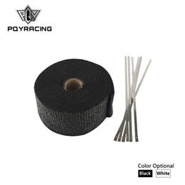 "$enCountryForm.capitalKeyWord UK - PQY RACING - 2"" x 5meter Thermal Wrap ,header warp , exhaust insulating warp ,exhaust pipe warp + 6 pcs 20cm Ties PQY1805"