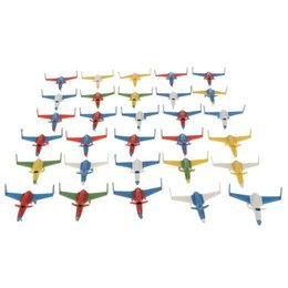 $enCountryForm.capitalKeyWord UK - 100 Pieces Airplane Playset Toy DIY Airport Scene Landscaping Aircraft Helicopter Fighter Jet Model Set