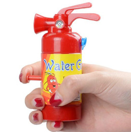 fire toys NZ - Simulation Fire Extinguisher Water Gun Child Playing War Role Playing Water Gun Playing Portable Squirter Water Toys