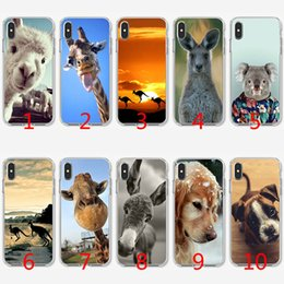 $enCountryForm.capitalKeyWord NZ - Cute Animal Dog Cat Soft Silicone TPU Case for iPhone X XS Max XR 8 7 Plus 6 6s Plus 5 5s SE Cover