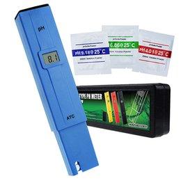Discount spa tester - PH-014_BLUE Digital Portable pH Meter Tester Spa Aquarium Hydroponic Pool 0-14pH ATC