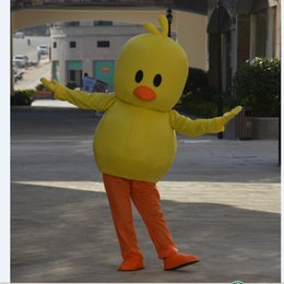 yellow duck costumes 2019 - 2018 High quality hot Big yellow duck costume Fancy dress Adult Size Suits - mascot Customizable