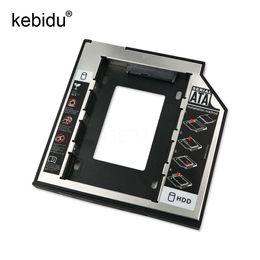 Discount dvd hard drives - Kebidu 2nd HD SATA Hard Disk Drive HDD Caddy Adapter Drive Bay 2.5 2nd 9.5mm Ssd For Cd Dvd Rom Optical Bay
