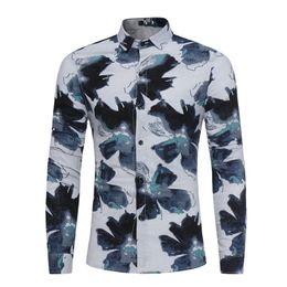 $enCountryForm.capitalKeyWord Canada - 2018 New Arrival Men Casual Shirt Tide Boys Club Blouses Fashion Button Gentleman Brief Style Slim Shirts Blusa Male Spring Tops