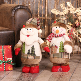 $enCountryForm.capitalKeyWord NZ - Christmas Decorations for Home Christmas Dolls Santa Claus Toys Stangding Figurines Decoration Christmas Gift for Kids Y18102609
