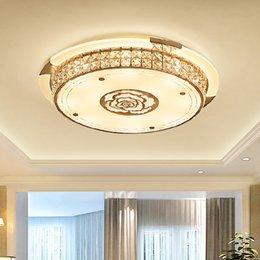 Bedroom Lights Ac110-240v Creative Arts Round Led Ceiling Lamps Romantic Style Living Room Lights Lights & Lighting