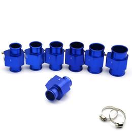 "$enCountryForm.capitalKeyWord Canada - Racing Blue Water Coolant Temperature Sensor Water Temp Gauge Adapter 1.25"" 28MM 30MM 32MM 34MM 36MM 38MM 40MM With Logo"