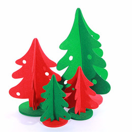 Discount feeling toys - Felt Christmas Tree Christmas Gifts Home Restaurant Table Decoration Ornament Christmas Supplies
