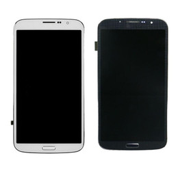 Wholesale samsung digitizer resale online - For Samsung Galaxy Mega I9200 I9205 I527 Original Touch Screen Digitizer LCD Display With Bezel Frame Full Assembly Screen Replacement