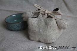 $enCountryForm.capitalKeyWord Australia - Retro teacup bunch pockets Plus cotton thickening wedding rebate gift bag Storage bag small bag