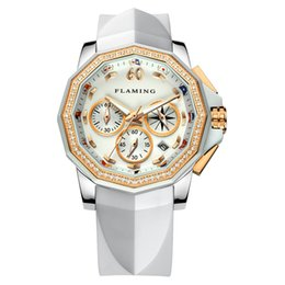 Mothers Pin Canada - New Fashion Stainless Steel Women Wrist Watch Mother of Pearl Dial Watch For Ladies Luxury Quartz Watches Relogio Feminino Nice Gift