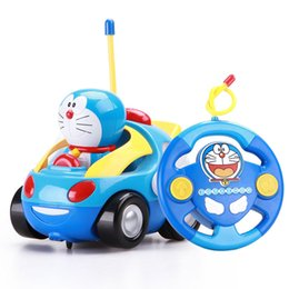 Doraemon Free Gift Australia - Gravity Sensing 4CH Doraemon RC Car Gesture Control Cars with Controller Remote Control Car Gift for Kids toys free shipping