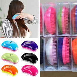 Magic Handle NZ - Anti-Static Hair Brush TT Comb Professional Detangle Hair Brushes Paddle Magic Handle Tangle TT Combs Shower Hair Brush Probucts for women