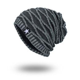 c273d246f36 Joymay 2018 New Winter Autumn Warm Beanies Hat Unisex Warm Soft Skull Knitting  Cap Hats Star Caps for Men Women Hot Sale WM067