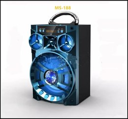 $enCountryForm.capitalKeyWord NZ - Big Bluetooth Speaker Sound HiFi Speaker Portable AUX Speakers Bass Wireless Outdoor Music Box With USB LED Light TF FM Radio