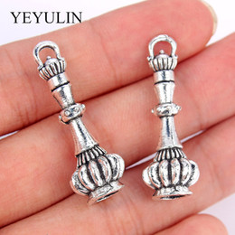$enCountryForm.capitalKeyWord NZ - 5pcs Antique Silver Plated Lighthouse Pendant Charms For Necklace Bracelet DIY Jewelry Making