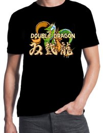$enCountryForm.capitalKeyWord NZ - Double Dragon Inspired Classic Street Arcade Console Fight Game T-Shirt 2017 New 100% Cotton Top Quality Top Tee T Shirt
