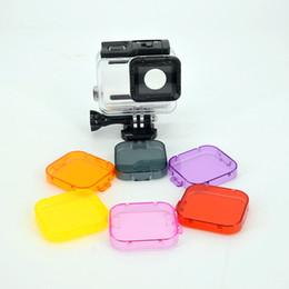 $enCountryForm.capitalKeyWord Australia - Plastic Diving Color Filter Lens Cover For Hero 7 6 5 Black action camera waterproof housing case