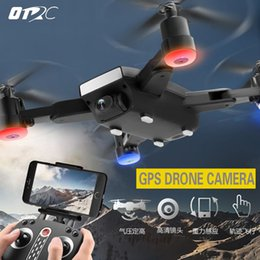gps wi fi Canada - Mini S9 Folden GPS RC Drone FPV Quadcopter Wide-Angle 720P HD WIFI Camera Altitude Hold Intelligent Battery Aircraft