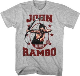 ec73abc2e5c Movie t shirts for Men online shopping - Rambo First Blood John Rambo One  Man One
