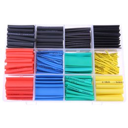 Heat Shrink Tubing Wire Wrap Australia - 530pcs SET Cable Sleeve Heat Shrink Tubing 2:1 Polyolefin Shrinking Assorted Wrap Wire Insulated shrinkable sleeving Tubes Set