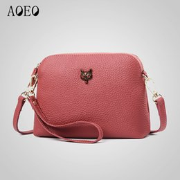 0779fb0572 2019 Fashion AOEO Mini Messenger Bags For Women Functional Real Genuine  Leather Lady Handbag Female Luxury Fox Summer Shoulder Bag 2 Belt