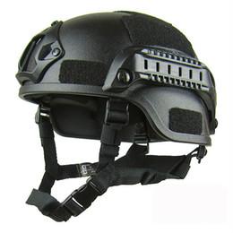 Helmet fast online shopping - Quality Lightweight FAST Helmet Airsoft MH Tactical Helmet Outdoor Tactical Painball CS SWAT Riding Protect Equipment