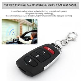 $enCountryForm.capitalKeyWord Australia - 10PCS Universal Remote Control Key 4 Buttons 433MHz Electric Garage Door Security Alarm System Wireless Controller Key Car Keys