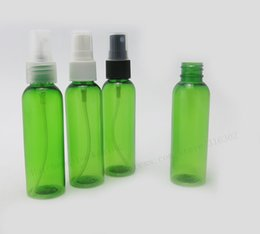 green plastic spray bottles mist 2019 - 50 x 60ml Green PET Plastic Bottle Atomizer Perfume Mist Spray  20mm 2oz Pet Cosmetic Container discount green plastic s