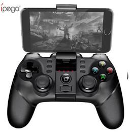 Vente en gros iPega PG Manette de jeu sans fil Bluetooth avec manette de jeu TURBO pour manette de jeu Bluetooth pour tablette Android / iOS