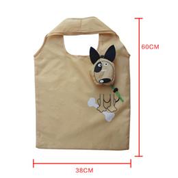 $enCountryForm.capitalKeyWord NZ - Cute Dog Useful Nylon Foldable Folding Bags Animals Eco Reusable Shopping Bags