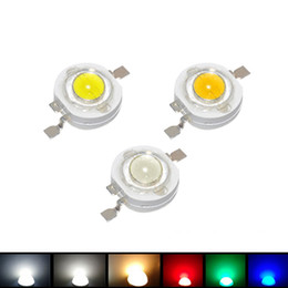 $enCountryForm.capitalKeyWord Australia - Wholesale 10pcs 1w led SMD chips bulb diode Red Blue Green  White Warm White Light Source Emitting Diodes for LED Spotlight lamp