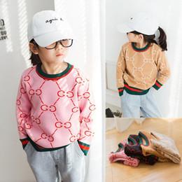 d166381c1 Primavera otoño bebé niñas suéter de alta calidad Kid caliente prendas de  punto suéteres para niña suéter hecho punto jersey de ropa