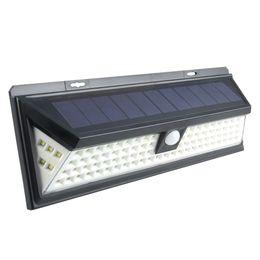 solar door light 2019 - 90Leds Super Bright Solar Lights Outdoor Motion Sensor Security Light Wireless Waterproof Wall Lights for Front Door,Gar