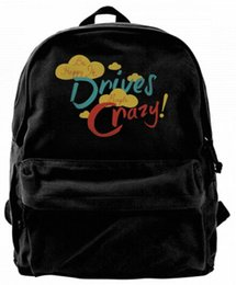 $enCountryForm.capitalKeyWord UK - Be Happy It Drives People Crazy Fashion Canvas Best Backpack Unique Camper Backpack For Men & Women Teens College Travel Daypack Black