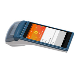 China Full Touch 5.5inch Screen Wireless Handheld PDA with Integrated Printer cheap touch printer suppliers
