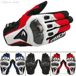 Leather Gloves Rs Taichi Australia - Wholesale-High Quality RS TAICHI motorcycle gloves racing off-road ride gloves carbon fiber tactical gloves sheepskin leather