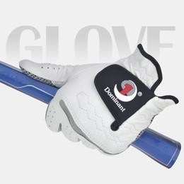Men Gloves Leather Sheepskin Australia - Golf Gloves Men's Left Hand Soft Breathable Pure Sheepskin With Anti-slip Granules Golf Gloves Golf Men